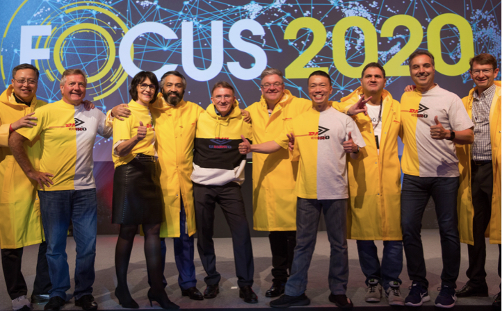 The best dressed logistics team – it can only be Vetements at the FOCUS 2020 conference