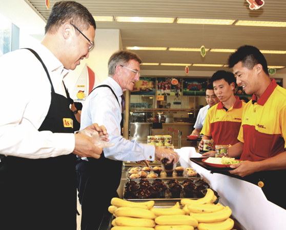 Getting hands on at DHL's Appreciation Week in China